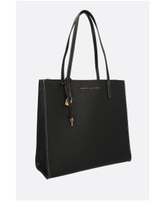 Marc Jacobs Luxury Fashion Handbags Leather Tote in Black