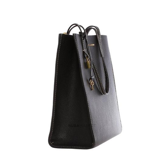 Marc Jacobs Luxury Fashion Handbags Leather Tote in Black Image 2