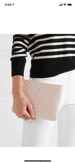 Saint Laurent Wristlet in Pink Image 6
