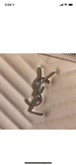 Saint Laurent Wristlet in Pink Image 7
