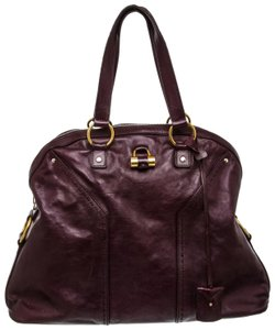 Saint Laurent Satchel in Purple