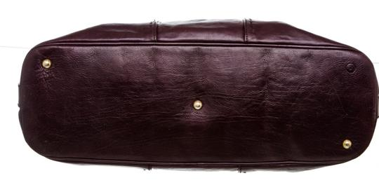 Saint Laurent Satchel in Purple Image 3