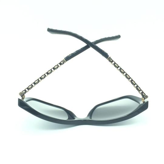 Chanel Chanel Polarized Black Chained Leather Sunglasses 5327-Q 501/S8 Image 6