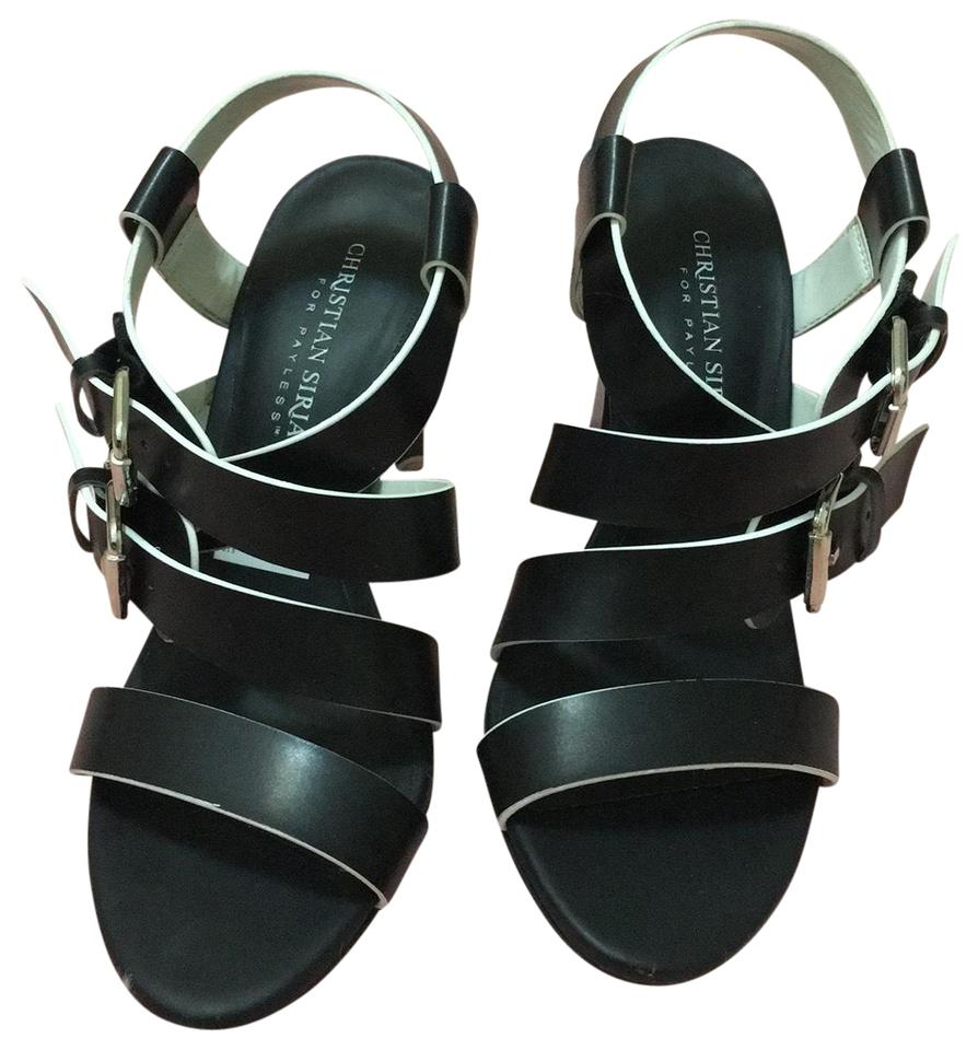 a65f030efc1 Christian Siriano for Payless Strappy Block Heels Like New Sandals Size US  5 Regular (M, B) 18% off retail