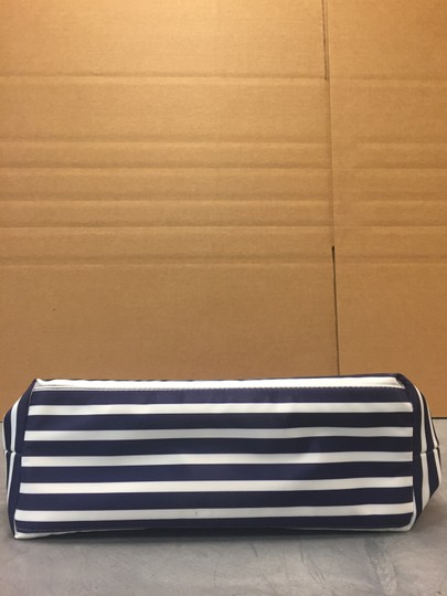 Kate Spade Catie Catie Handles Stripes Tote in Red navy white Image 3