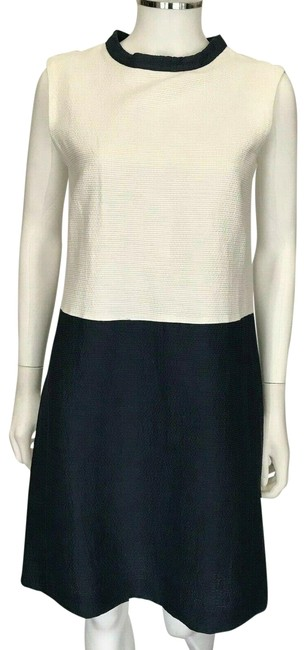 Preload https://img-static.tradesy.com/item/25533300/max-mara-white-and-navy-blue-sleeveless-shift-in-party-68-mid-length-night-out-dress-size-6-s-0-1-650-650.jpg