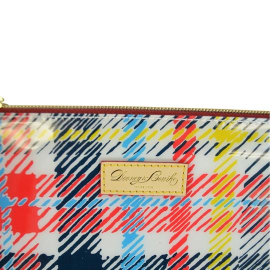 Dooney & Bourke Chatham Tassle Cosmetic Pouch Makeup White Clutch Image 4