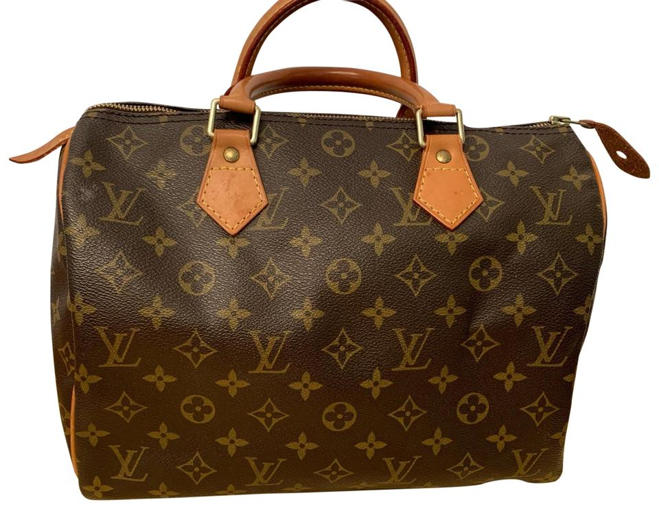 Used Louis Vuitton Bags >> Louis Vuitton Speedy What A Beauty Preowned Gently Used Lv 30 Monogram Canvas Satchel 31 Off Retail