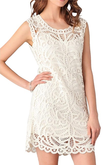 Preload https://img-static.tradesy.com/item/25533814/bcbgmaxazria-white-beto-crochet-lace-gardenia-short-casual-dress-size-4-s-0-3-650-650.jpg