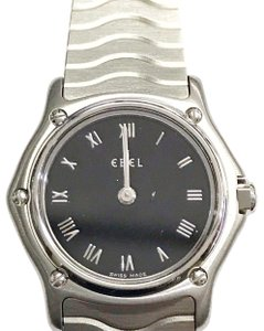 Ebel CLASSY STYLISH Ebel Wave Series Quartz Stainless Steel Wrist Watch with Stainless Steel Strap