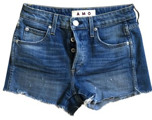 AMO Cut Off Shorts denim