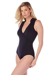 9042a25bf90 Miraclesuit Magicsuit by Miraclesuit Scuba Miley One-Piece Swimsuit