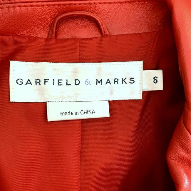 Garfield & Marks Red Blazer Image 4