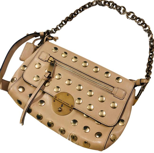 Item - Small Gotham Gold Leather Baguette