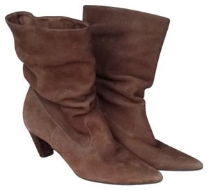 Matisse Brown Distressed Leather Boots
