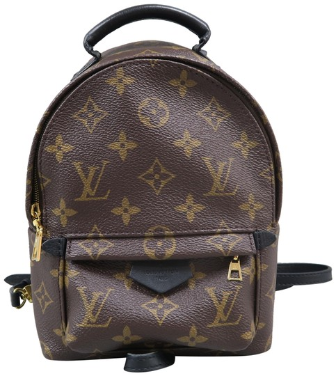 Preload https://item4.tradesy.com/images/louis-vuitton-palm-springs-mini-brown-monogram-canvas-backpack-25536068-0-1.jpg?width=440&height=440