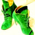 Off-White™ Kelly Green/Verde/Verde Boots