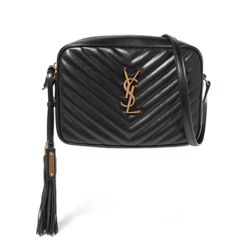 7f287004e34 Saint Laurent Monogram Lou Camera Quilted Leather Cross Body Bag ...