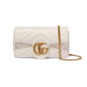 28a50681f Added to Shopping Bag. Gucci Cross Body Bag. Gucci Marmont Super Mini  Quilted Leather ...