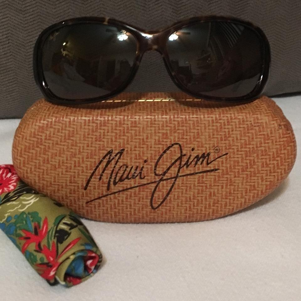 69bbcf6b5cb Maui Jim Dark Tortoise Frame W/Polarized Brown Lense /Style: Pearl City -  Mj 214-10 Sunglasses