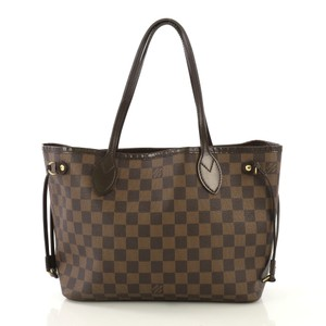 Louis Vuitton Neverfull Tote in Brown