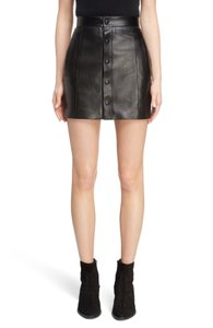 Saint Laurent Mini Skirt Black