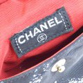 Chanel Bum Logos Line Cell Phone Case Black Nylon Canvas Weekend/Travel Bag Chanel Bum Logos Line Cell Phone Case Black Nylon Canvas Weekend/Travel Bag Image 10