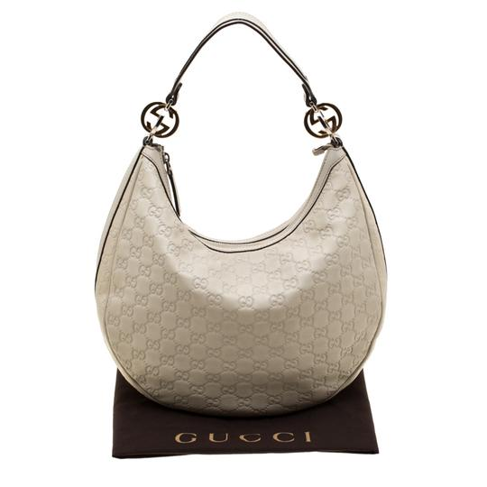 Gucci Leather Hobo Bag Image 11