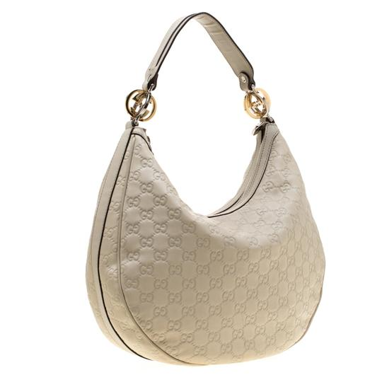 Gucci Leather Hobo Bag Image 3
