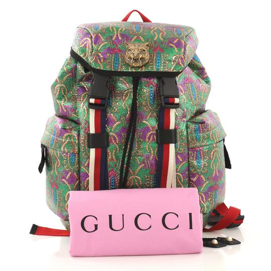 Gucci Techpack Brocade Backpack Image 1