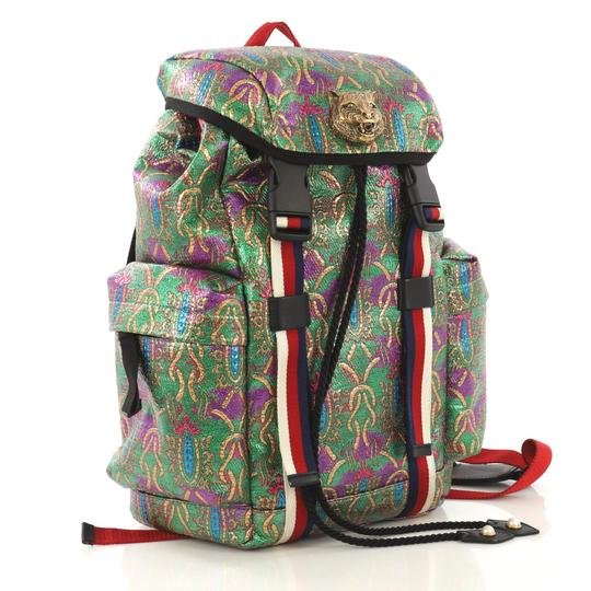 Gucci Techpack Brocade Backpack Image 2