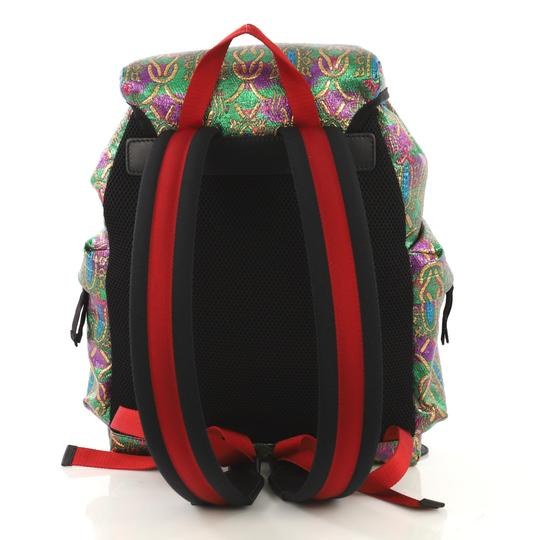 Gucci Techpack Brocade Backpack Image 3