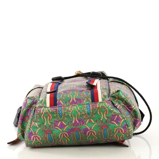Gucci Techpack Brocade Backpack Image 4