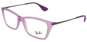 Ray-Ban RX7022-5367-52 Rectangle Women's Violet Frame Clear Lens Eyeglasses NW