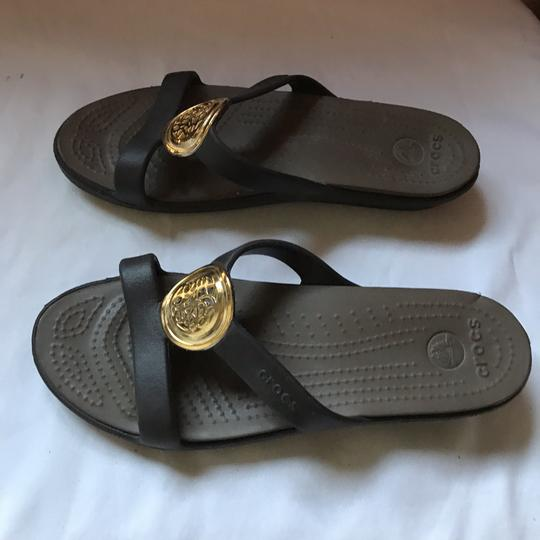 CROCS Black Sandals Image 3