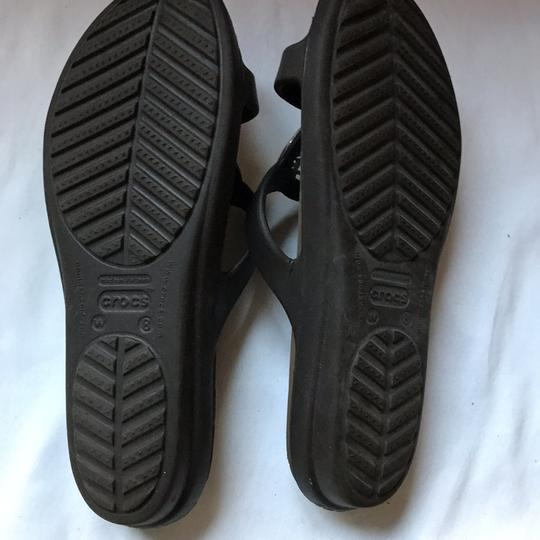 CROCS Black Sandals Image 5