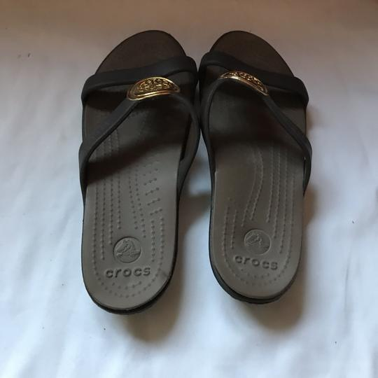 CROCS Black Sandals Image 6