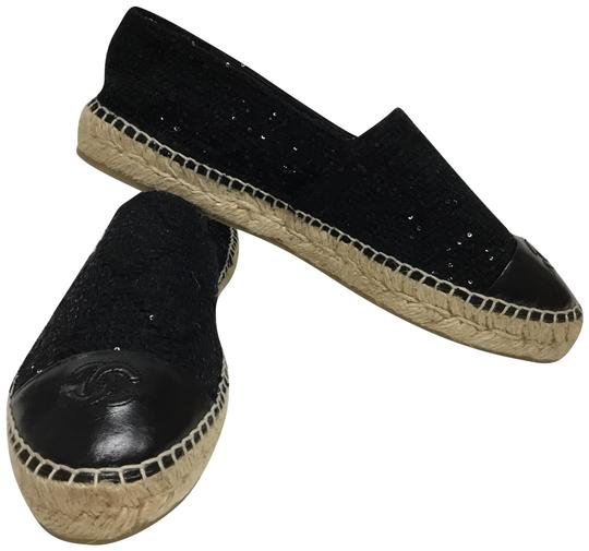 Preload https://img-static.tradesy.com/item/25537398/chanel-black-sequined-embroidered-tweed-espadrilles-flats-size-eu-41-approx-us-11-regular-m-b-0-2-540-540.jpg