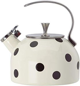 Kate Spade Deco Dot 2.5 Quart Tea Kettle Cookware