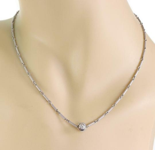 Tiffany & Co. Picasso Diamond & Pink Sapphire 18k Gold Reversible Necklace Image 3