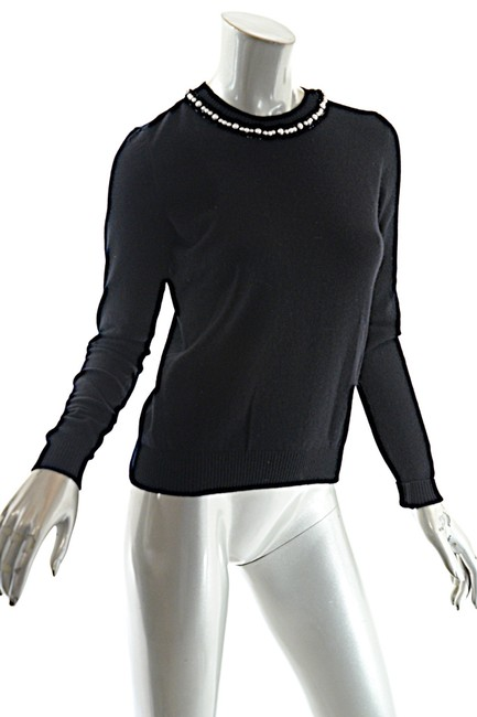 Chanel Cashmere Pearls Sweater Image 2