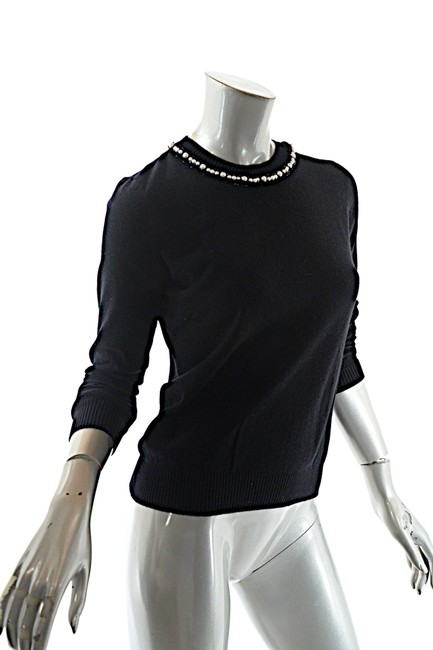 Chanel Cashmere Pearls Sweater Image 3