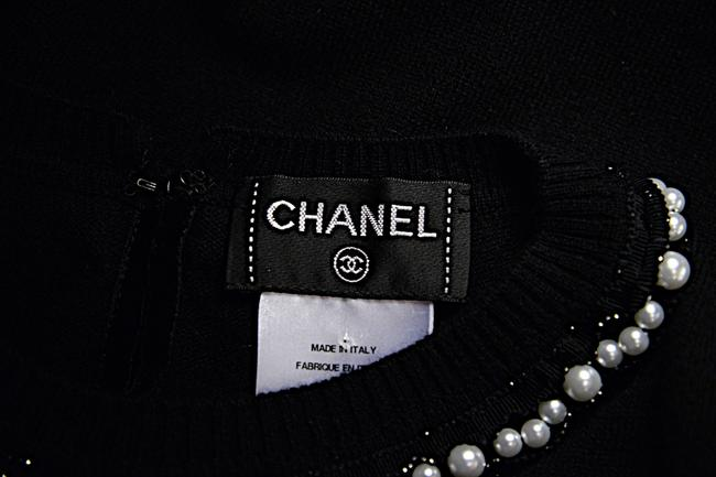 Chanel Cashmere Pearls Sweater Image 7