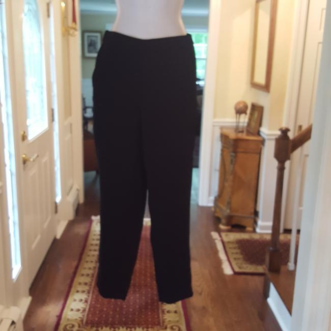 Preload https://item2.tradesy.com/images/jcrew-black-relaxed-pants-size-0-xs-25-25537561-0-0.jpg?width=400&height=650
