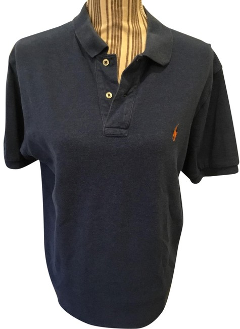 Preload https://img-static.tradesy.com/item/25537562/ralph-lauren-blue-polo-button-down-top-size-14-l-0-1-650-650.jpg