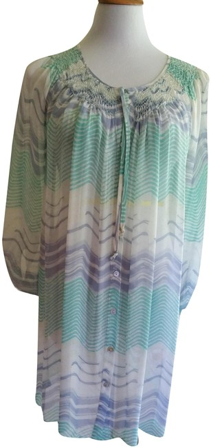 Preload https://img-static.tradesy.com/item/25537638/calypso-st-barth-soft-blue-and-greens-tunic-style-mid-length-short-casual-dress-size-12-l-0-1-650-650.jpg