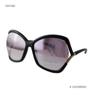 Tom Ford New Tf Astrid-02 FT579 01Z Women Violet Mirror Square Oversized Suns