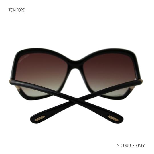Tom Ford New Tf Astrid-02 FT579 01Z Women Violet Mirror Square Oversized Suns Image 7