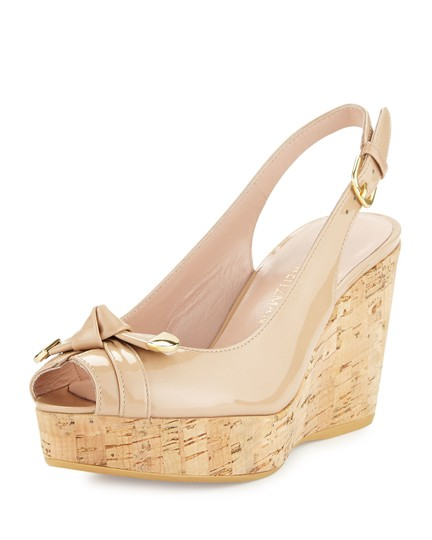 Preload https://img-static.tradesy.com/item/25537725/stuart-weitzman-natural-women-chatter-knotted-patent-sandal-new-wedges-size-us-10-regular-m-b-0-0-540-540.jpg
