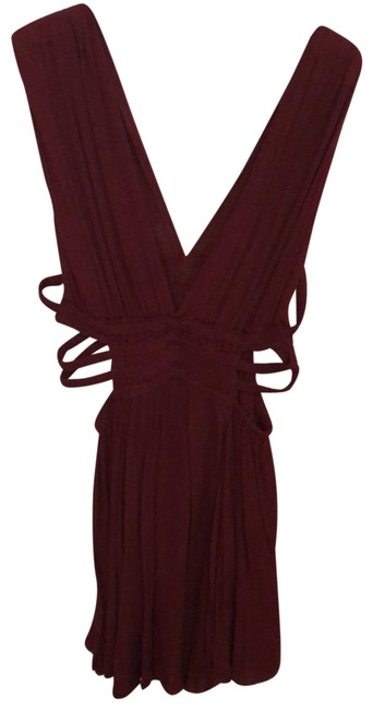Preload https://img-static.tradesy.com/item/25537740/free-people-burgundy-00000-short-casual-dress-size-8-m-0-1-650-650.jpg
